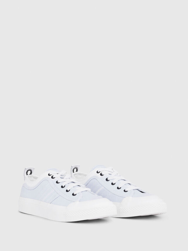 Diesel - S-ASTICO LOW LACE W, White/Blue - Sneakers - Image 2