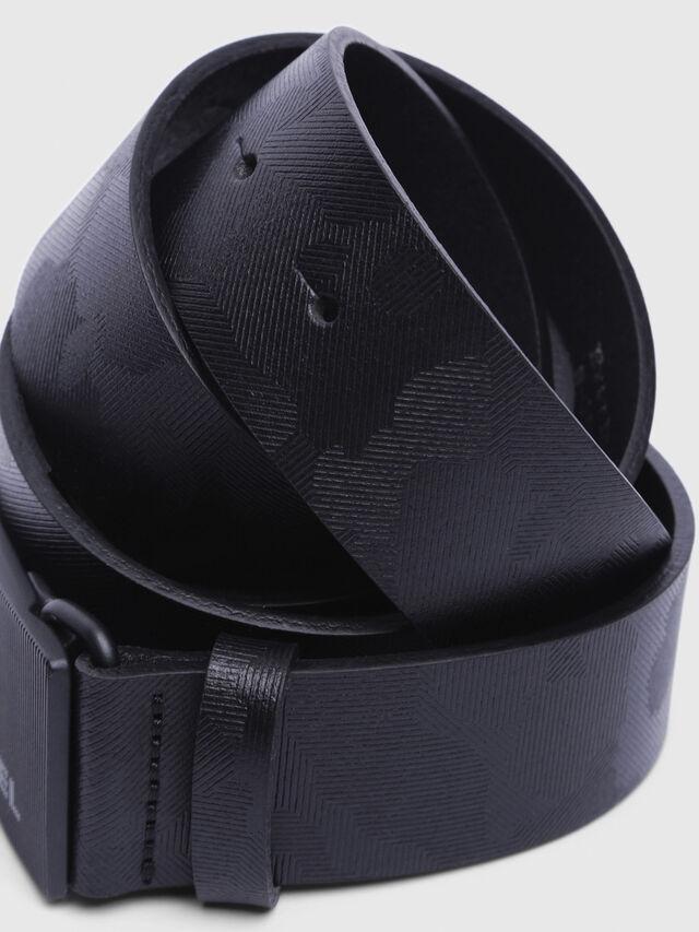 Diesel - B-BORSO, Black - Belts - Image 2