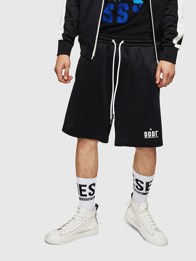 Diesel - P-MIKHAIL, Black - Shorts - Image 1