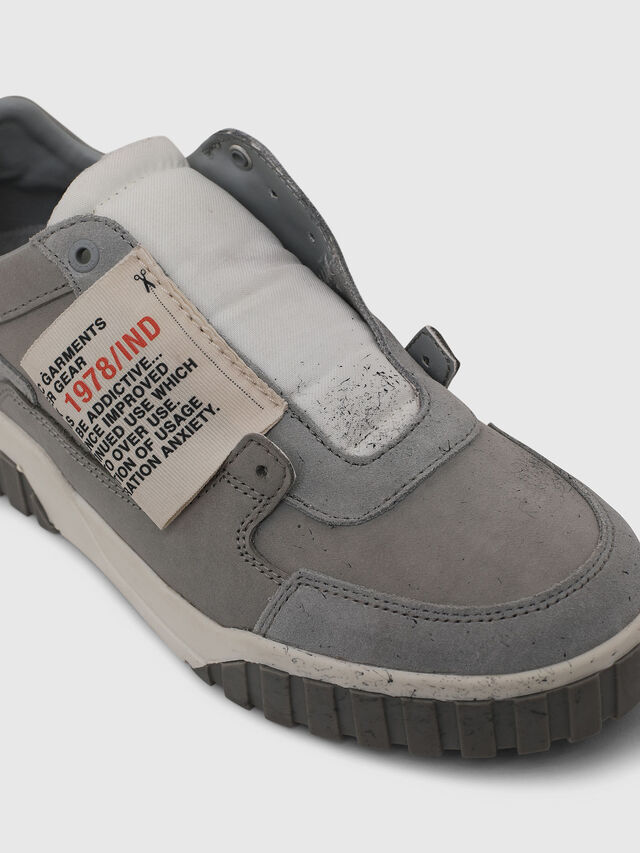 Diesel - S-LE RUA ON W, Light Grey - Sneakers - Image 4