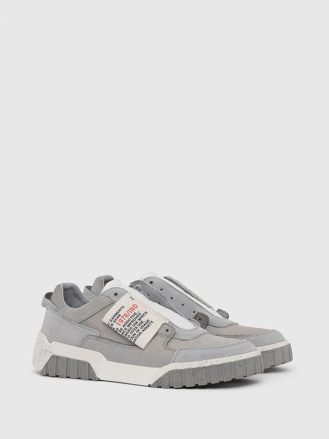 Diesel - S-LE RUA ON W, Light Grey - Sneakers - Image 2