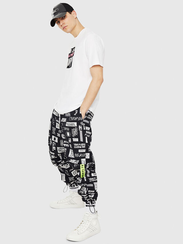 Diesel - T-JUST-Y23, White - T-Shirts - Image 5