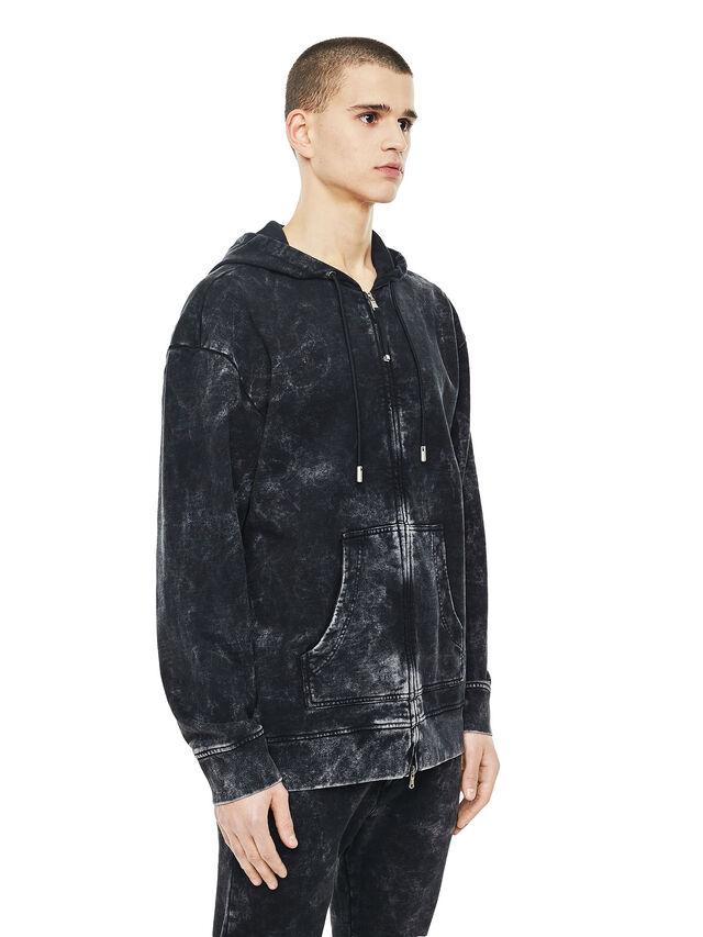 Diesel - FYOVER, Black - Sweatshirts - Image 3