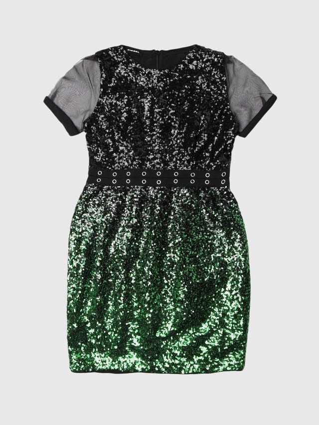 Diesel - DAKKI, Black/Green - Dresses - Image 1
