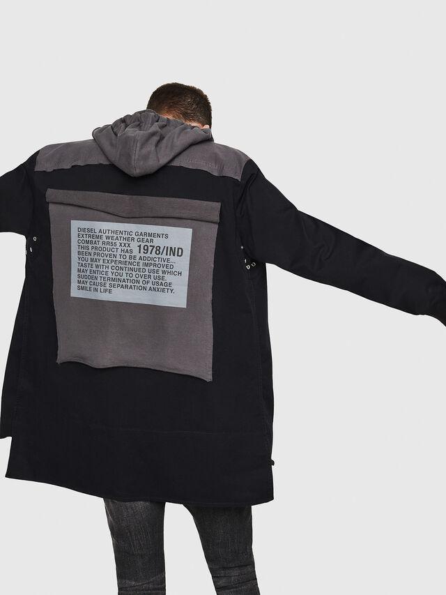 Diesel - S-EIKU, Black - Shirts - Image 2