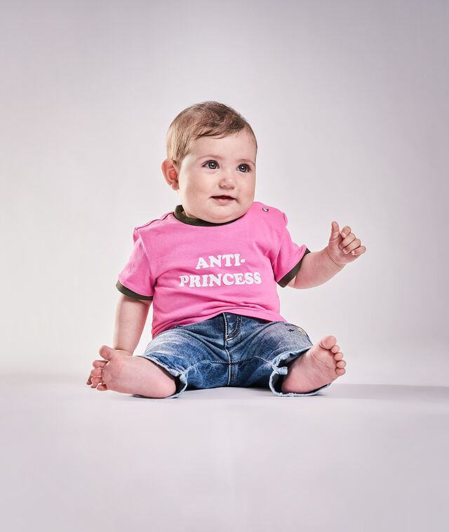 Diesel - TRENYB, Hot pink - T-shirts and Tops - Image 1