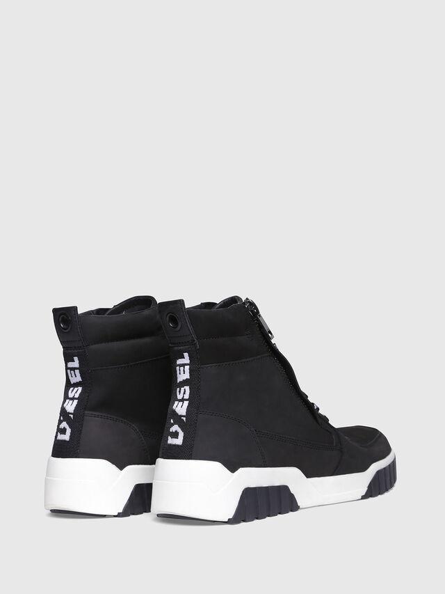 Diesel - S-RUA MC, Black - Sneakers - Image 3