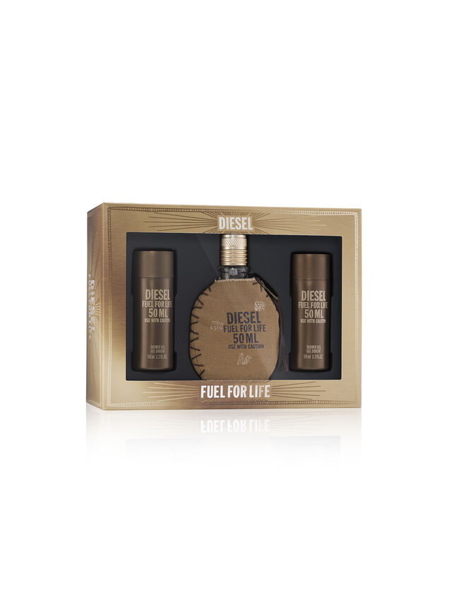Diesel - FUEL FOR LIFE 50ML GIFT SET, Brown - Fuel For Life - Image 1