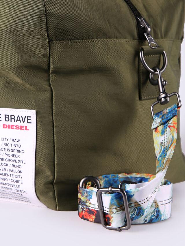 Diesel - XXMATCHDUFFLE, Green - Backpacks - Image 4