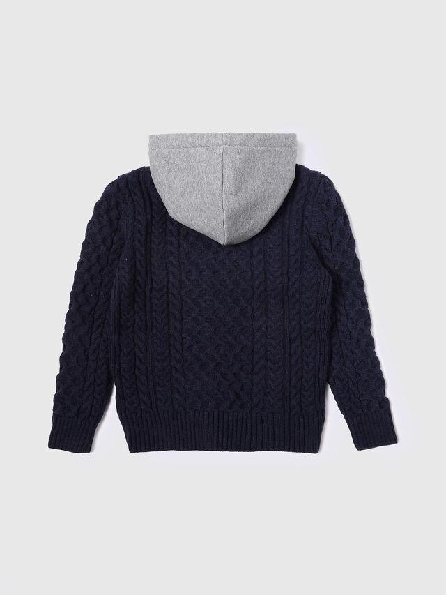 Diesel - KUMMI, Grey/Blue - Sweaters - Image 2