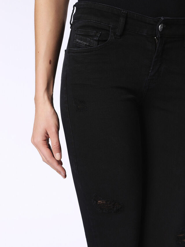 Diesel - Slandy 084EX, Black Jeans - Jeans - Image 6