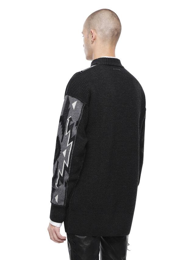 Diesel - KAVAJO, Black - Sweaters - Image 2