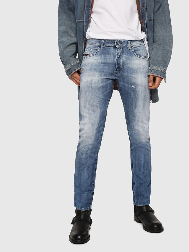 Diesel - Thommer 081AS, Medium Blue - Jeans - Image 1