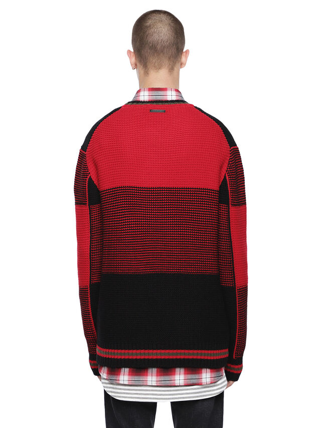 Diesel - KILTY, Red/Black - Sweaters - Image 2