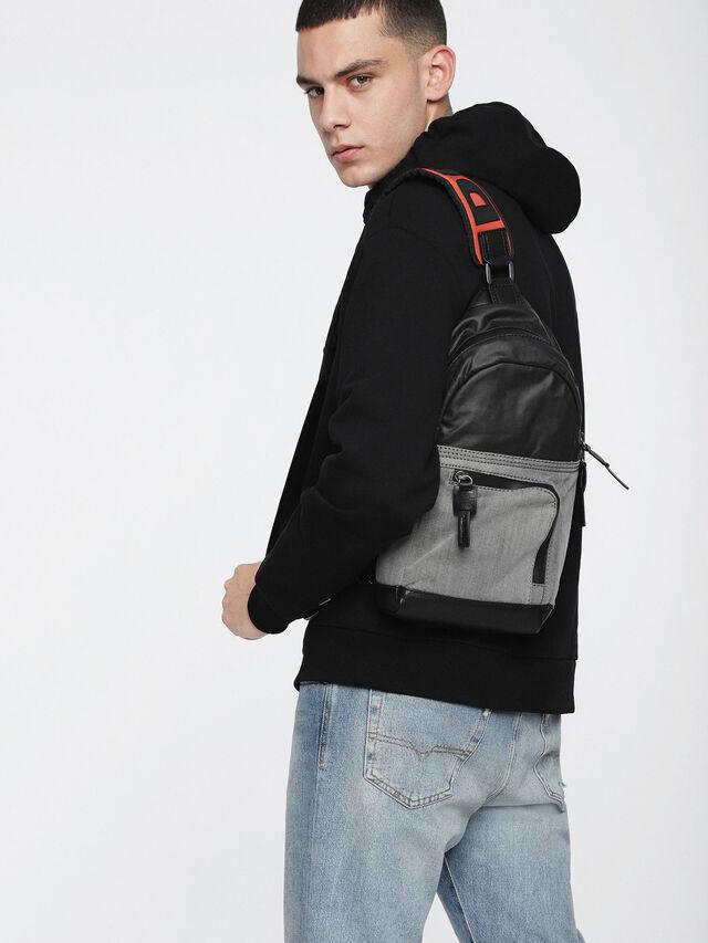 Diesel - D-MASTER MONO, Grey - Backpacks - Image 4