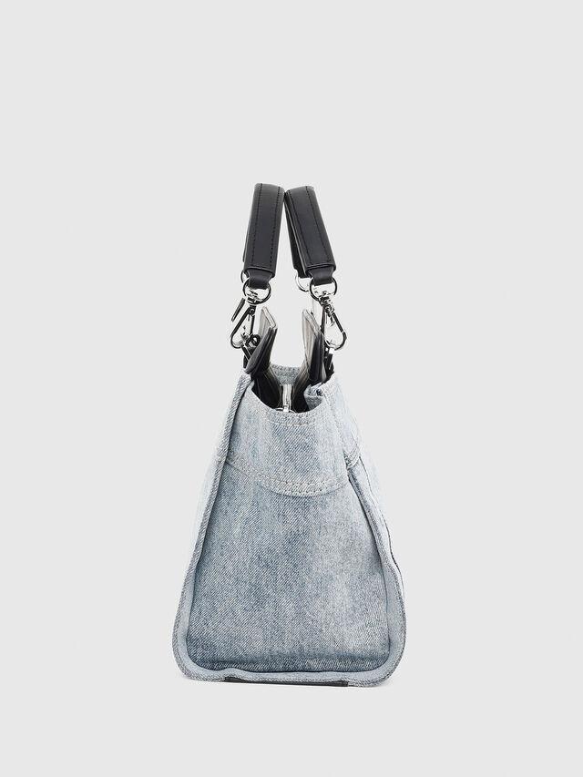 Diesel - BADIA, Grey Jeans - Satchels and Handbags - Image 3