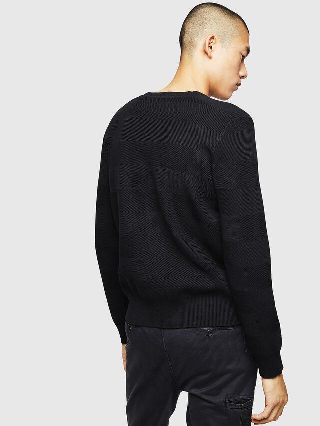 Diesel - K-STLE, Black - Sweaters - Image 2