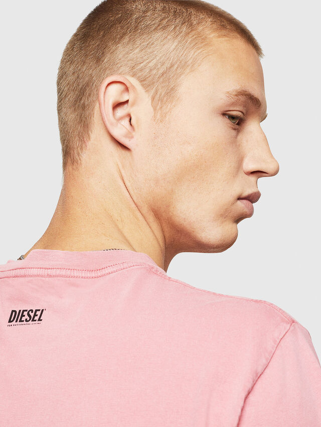 Diesel - T-THURE, Pink - T-Shirts - Image 3