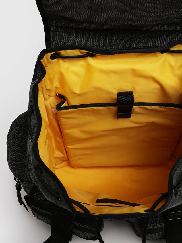 Diesel - M-CAGE BACK, Gray/Black - Backpacks - Image 4