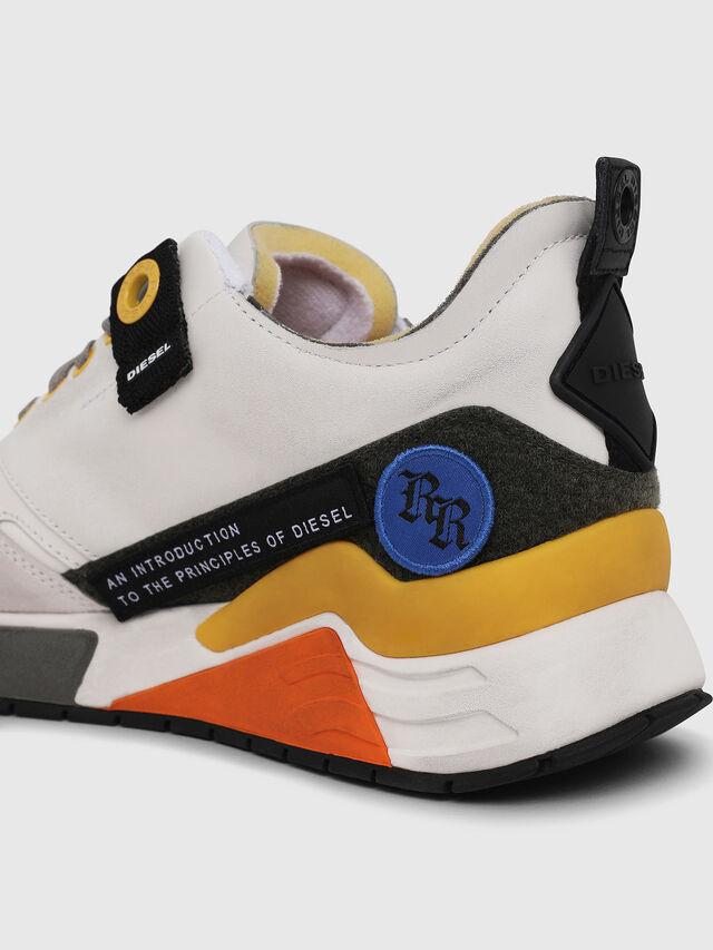 Diesel - S-BRENTHA LC VELCRO, White - Sneakers - Image 4