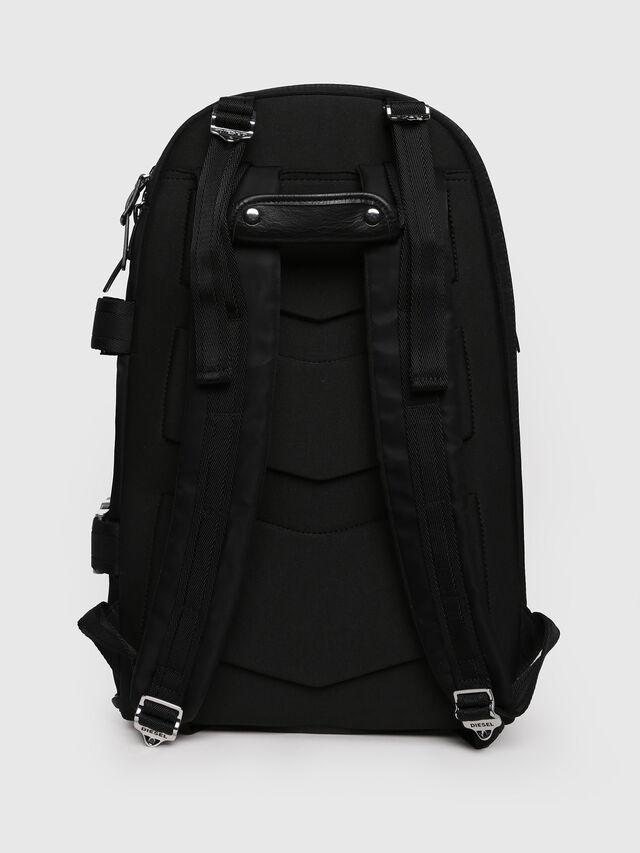 Diesel - F-LAW BACK, Black/Blue - Backpacks - Image 2
