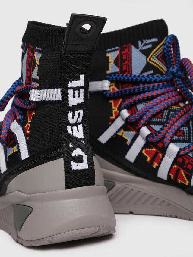 Diesel - S-KB LOOP SOCK, Multicolor - Sneakers - Image 5