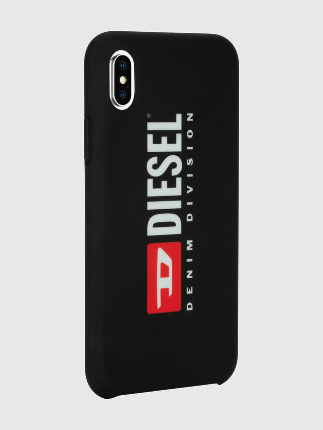 Diesel - DIESEL PRINTED CO-MOLD CASE FOR IPHONE XS MAX, Black/White - Cases - Image 6