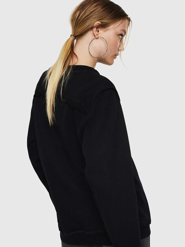 Diesel - F-LYANY-F, Black - Sweatshirts - Image 2