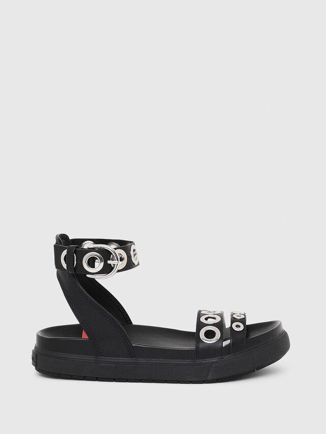 Diesel - SA-GRAND LCE, Black - Sandals - Image 1