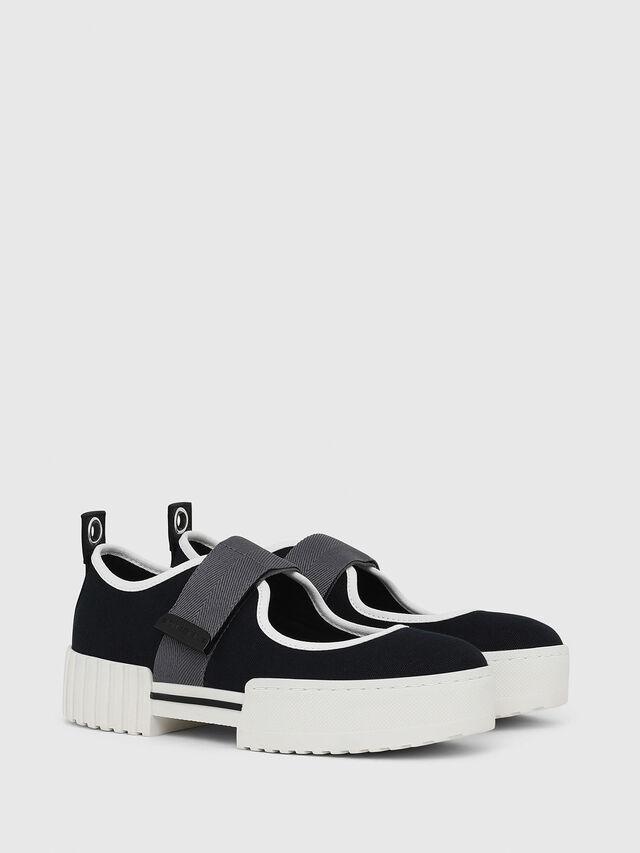 Diesel - H-MERLEY B, Black - Sneakers - Image 2