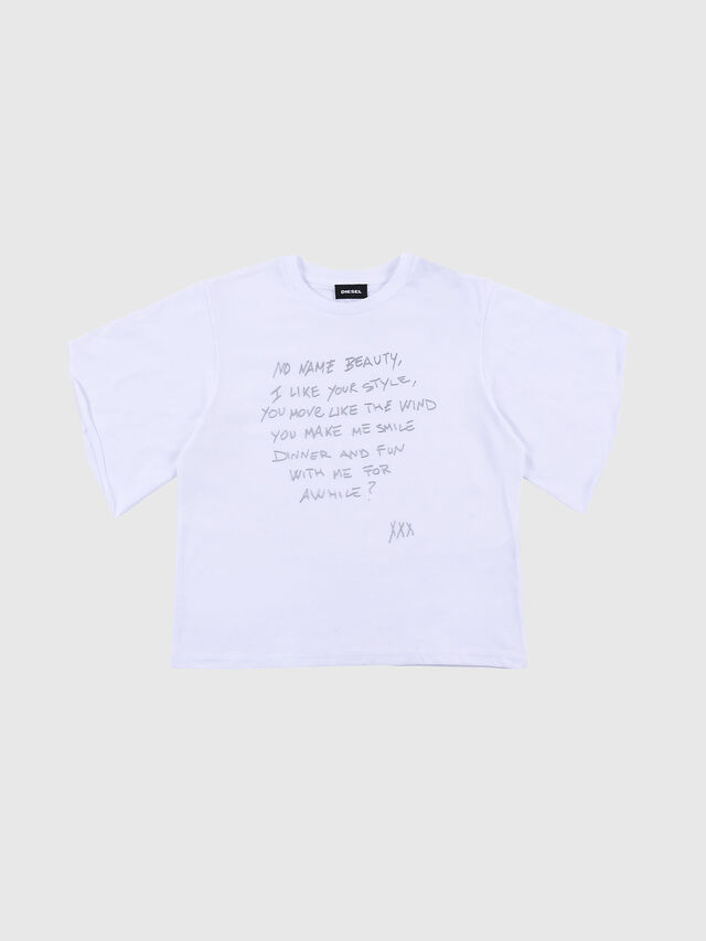 Diesel - TJPETA W, White - T-shirts and Tops - Image 1