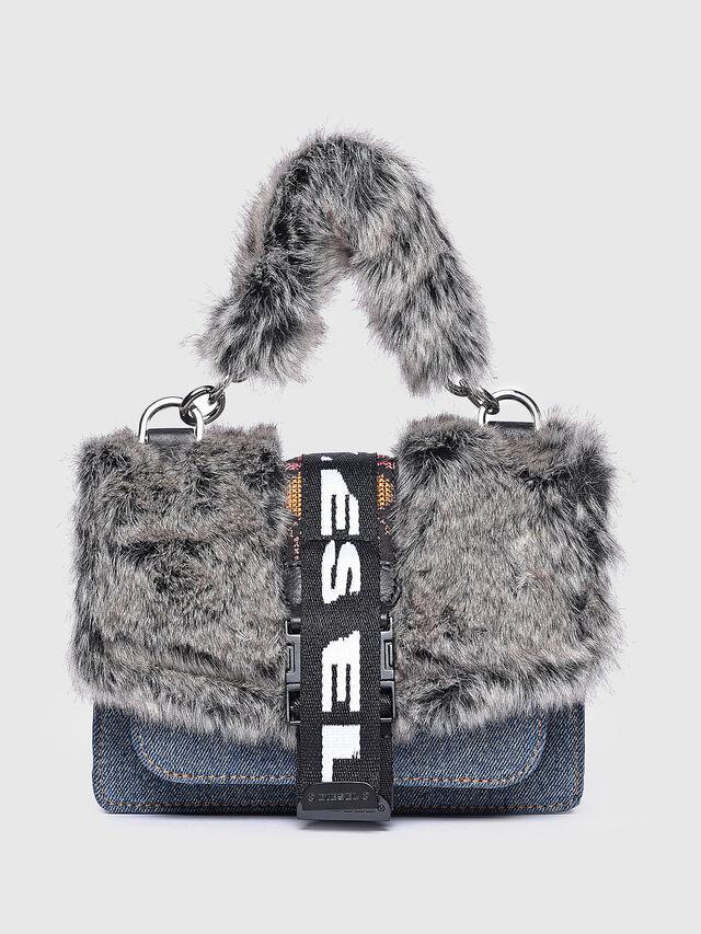 Diesel - MISS-MATCH CROSSBODY, Grey - Crossbody Bags - Image 1