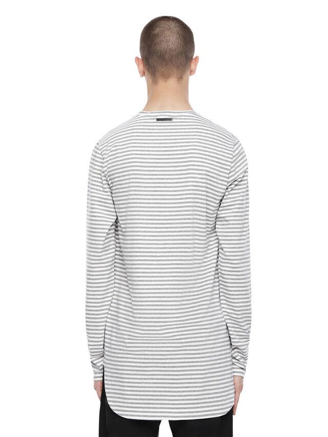 Diesel - TRYGA, Grey - T-Shirts - Image 2