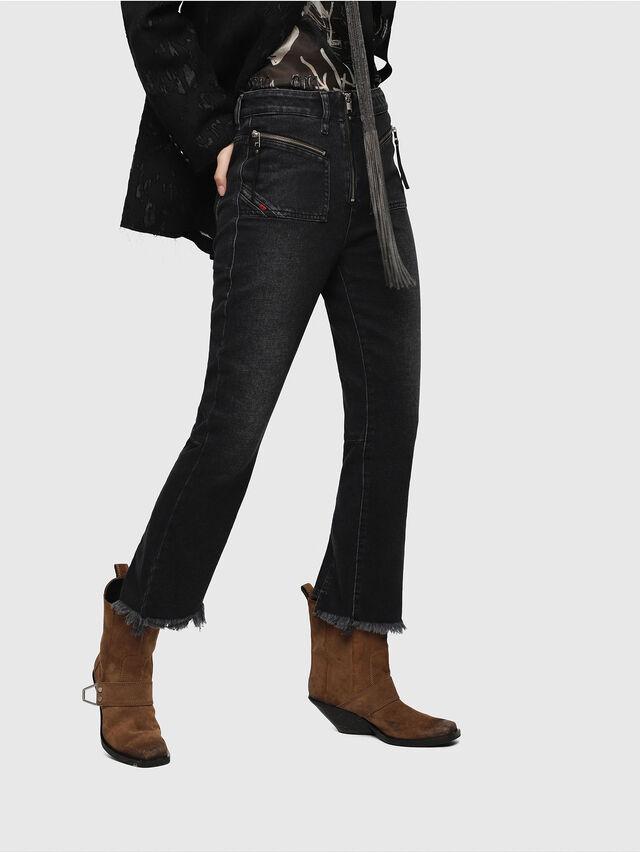 Diesel - D-Earlie 080AP, Black/Dark Grey - Jeans - Image 3