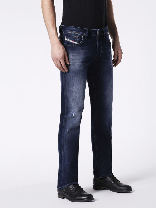 Diesel - Larkee 0860L, Dark Blue - Jeans - Image 6