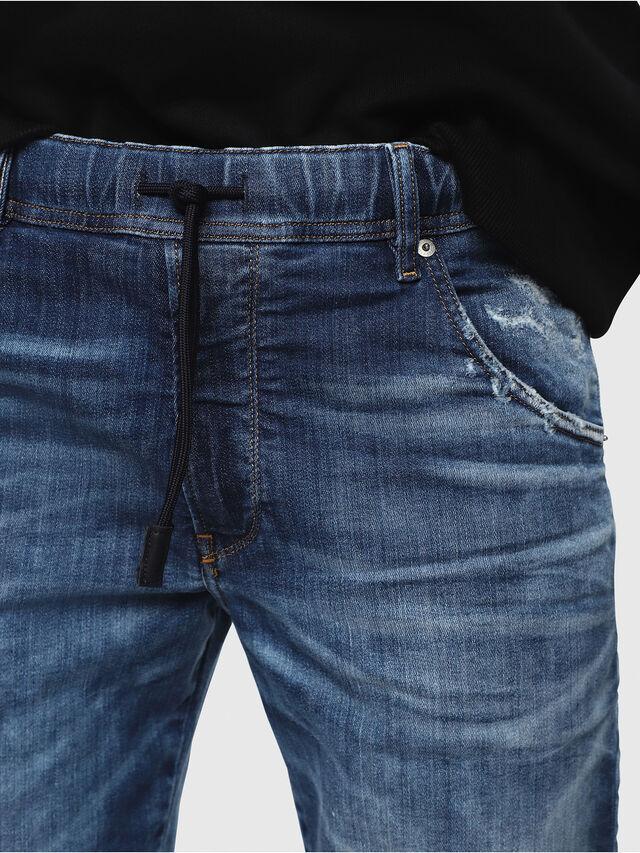 Diesel - D-KROOSHORT-T, Medium Blue - Shorts - Image 3