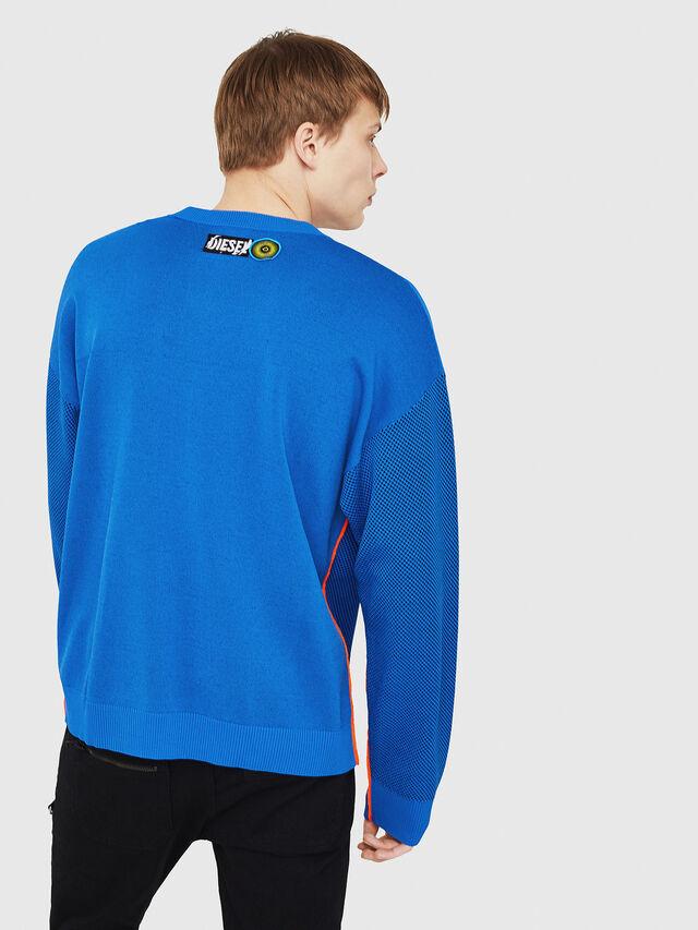 Diesel - K-TREY, Brilliant Blue - Sweaters - Image 2