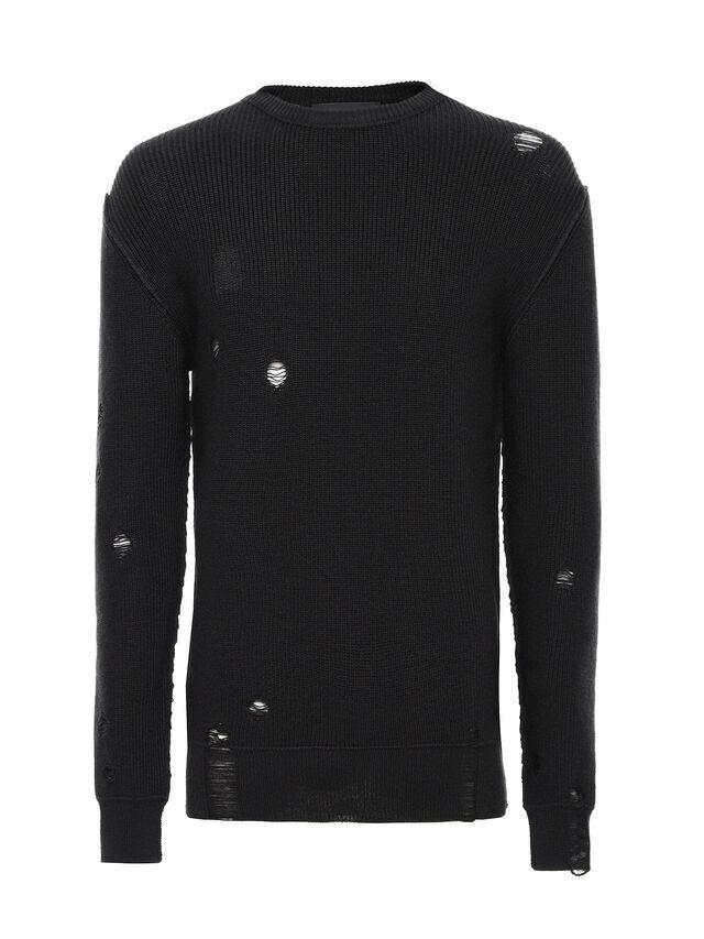 Diesel - KABUCO, Black - Sweaters - Image 5