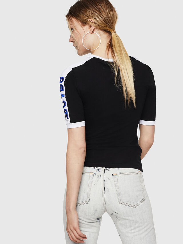 Diesel - T-HEIA-A, Black - T-Shirts - Image 2