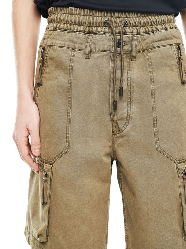 Diesel - PHILOS, Military Green - Shorts - Image 4