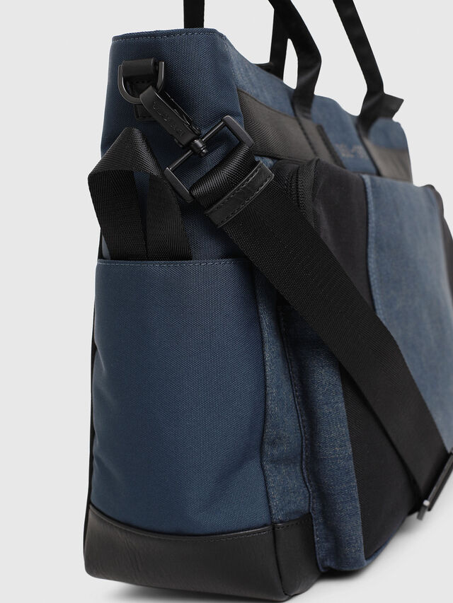 Diesel - BAGOTE, Dark Blue - Shopping and Shoulder Bags - Image 4