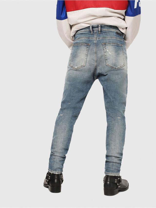 Diesel - D-Vider JoggJeans 087AD, Light Blue - Jeans - Image 2
