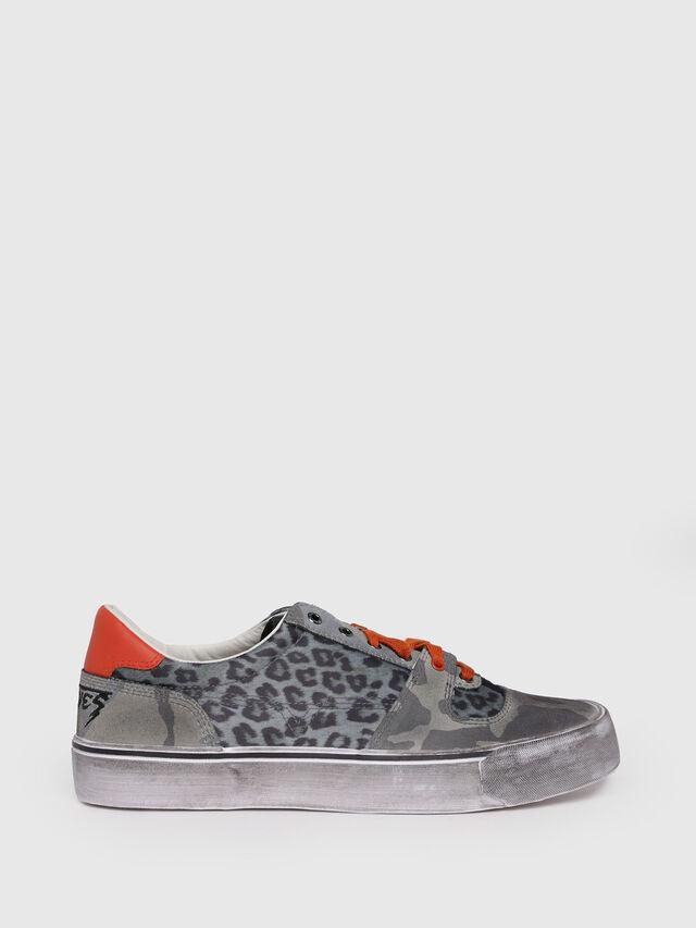 Diesel - S-FLIP LOW, Green - Sneakers - Image 1