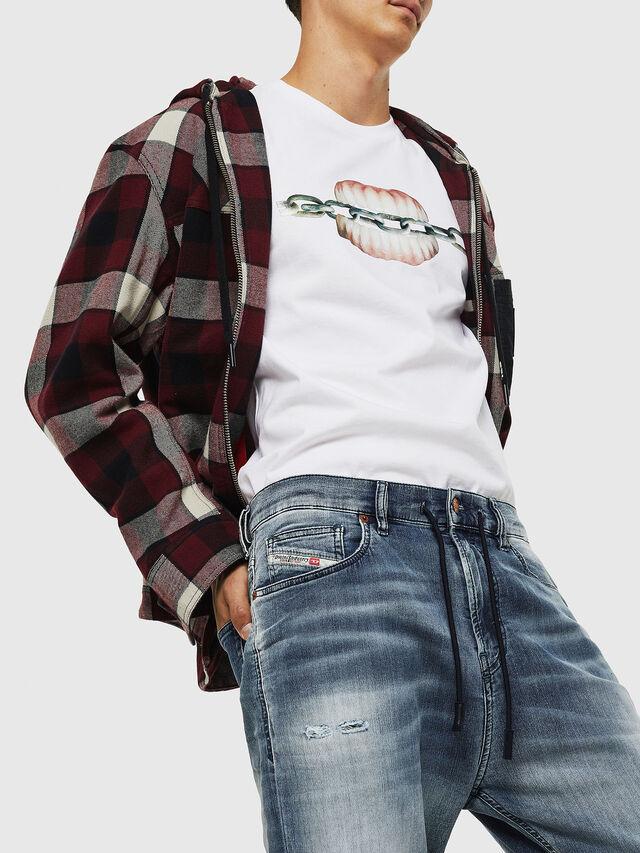 Diesel - D-Vider JoggJeans 069IP, Dark Blue - Jeans - Image 3