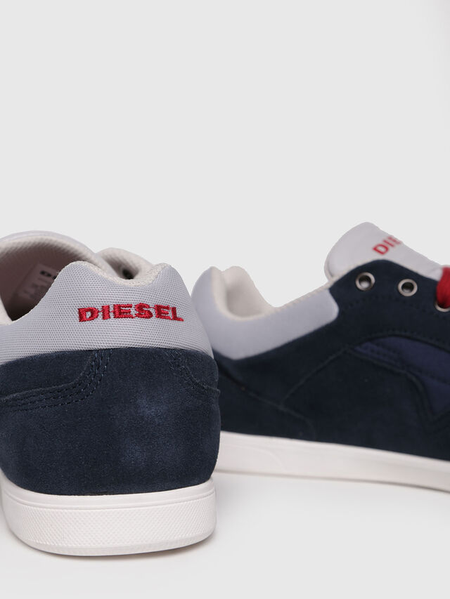 Diesel - S-HAPPY LOW, Dark Blue - Sneakers - Image 4