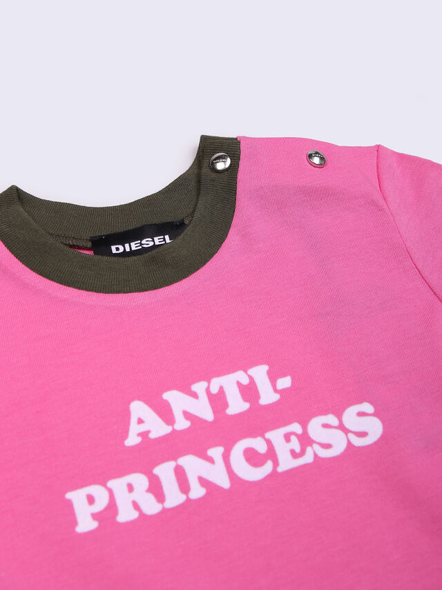 Diesel - TRENYB, Hot pink - T-shirts and Tops - Image 4