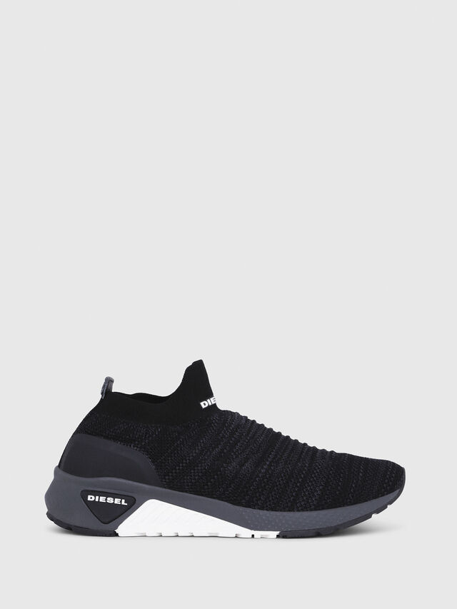 Diesel - S-KB ATHL SOCK, Black - Sneakers - Image 1