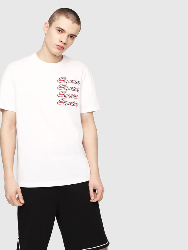 Diesel - T-JUST-Y13, White - T-Shirts - Image 1
