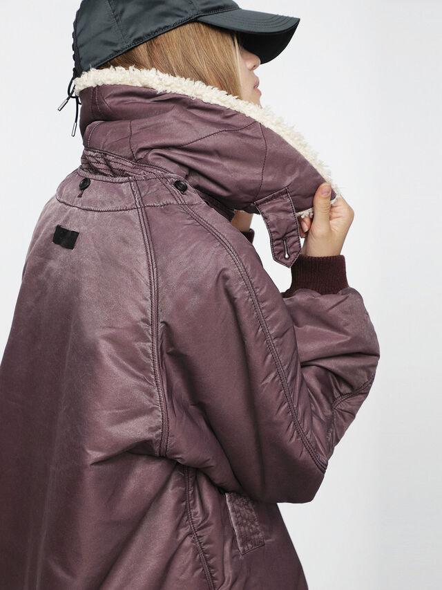 Diesel - W-GIADA, Violet - Winter Jackets - Image 5