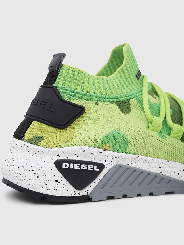 Diesel - S-KB SL, Green Fluo - Sneakers - Image 4